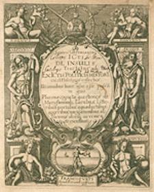 Ioannis Gryphiandri Icti De Insulis Tractatus Exictis, Politicis, Historicis, et Philologis collectus [...].