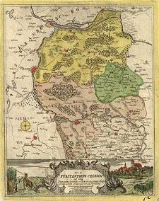 Das Fürstenthum Crossen mit denen Sternbergischen und Scwibussischen [!] Creyssen in Nieder-Schlesien wie auch den Oder Pass Fürstenberg
