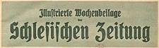 Illustrierte Wochenbeilage der Schlesischen Zeitung 1926-07-31 Nr 31