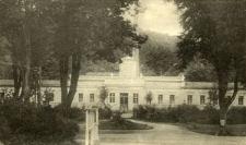 Badehaus - Bad Langenau, Bez. Breslau (Glatzer Gebirge).