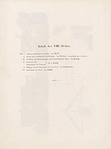 Architektonisches Skizzenbuch, 1854, Heft VIII, Blatt 1-6