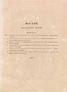 Architektonisches Skizzenbuch, 1863, Heft (III) LXII , Blatt 1-6