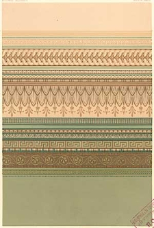 Architektonisches Skizzenbuch, 1869, Heft (II) XCVI, Blatt 1-6
