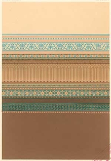 Architektonisches Skizzenbuch, 1869, Heft (IV) XCVIII, Blatt 1-6