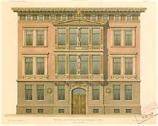 Architektonisches Skizzenbuch, 1870, Heft III, Blatt 1-6