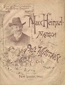 Max Heinzel - March : Op. 74