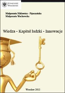 Wiedza, kapitał ludzki, innowacje