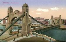 Breslau. Kaiserbrücke.
