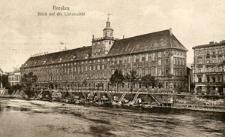 Breslau. Blick auf die Universität.