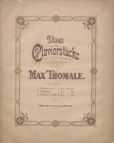 Festmarsch G dur [z cyklu:] Drei Clavierstücke : [No] 3