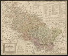Generalcharte von Schlesien. Nach astronomischen Ortsbestimmungen und seinen dermalingen Bestande entworfen von F.L. Güssefeld