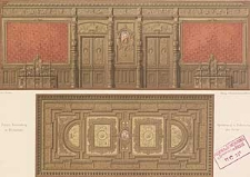 Architektonisches Skizzenbuch, 1874, Heft (IV) CXXVII, Blatt 1-6