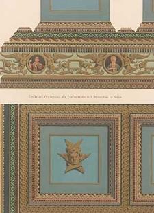 Architektonisches Skizzenbuch, 1876, Heft (V) CXL, Blatt 1-5