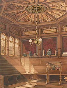 Architektonisches Skizzenbuch, 1876, Heft (VI) CXLI, Blatt 1-6