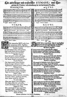 Ein andechtiger und trostreicher Hymnus, umb Vergebung der Sünden, und abwendung der wol verdienten Straffen