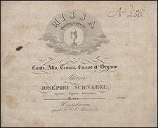 Missa quadragesimalis a canto, alto, tenore, basso et organo