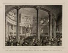 Die deutsche Nationalversammlung in der Paulskirche zu Frankfurt a. M.
