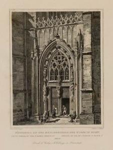 Südportal an der Marienkirche zur Wiese in Soest