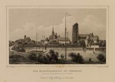 Die Sandvorstadt in Breslau von der Ziegelbastion aus gesehen