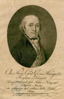 [Haugwitz Christian August Heinrich Kurt von]