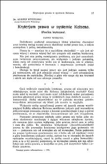 Dekrety w powojennem prawie konstytucyjnem