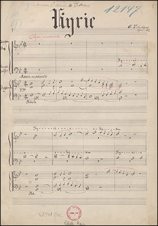 Missa Solemnis Op. 12