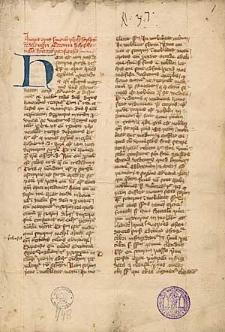 Opus sermonum de tempore ; Sermo de conceptione b. Mariae virginis