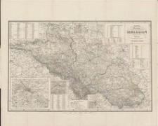 Karte der Provinz Schlesien