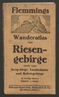 Flemmings Wanderatlas vom Riesengebirge sowie vom Isergebirge, Landeshuter und Rabengebirge