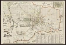Stadtplan Beuthen OS.