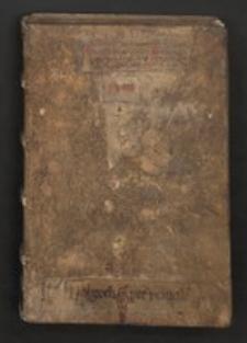 Sermones de tempore (pars hiemalis); Registrum bibliae metricum; Sermones varii