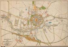 Stadtplan von Reichenbach unter der Eule : Schlesien