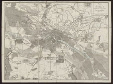 Plan von Berlin nebst denen umliegenden Gegenden im Jahre 1802