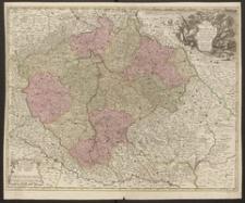 Le Royaume de Boheme divisée en ses douze cercles. Carte reduite sur celle de 25 feuilles par I.C. Muller
