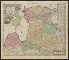 Ducatuum Livoniae et Curlandiae cum vicinis insulis nova exhibitio geographica