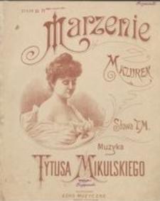 Marzenie : mazurek