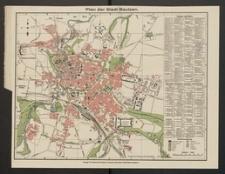 Plan der Stadt Bautzen