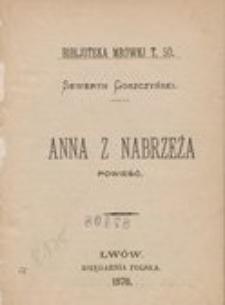 Anna z Nabrzeża : powieść