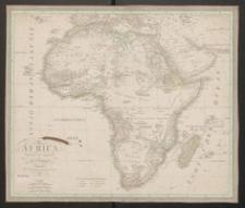 Africa etworfen und gezeichnet von C.F.Weiland