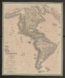 America entworfen und gezeichnet von C.F.Weiland