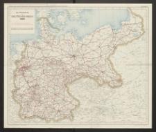 Die Eisenbahnen im Deutschen Reich 1885
