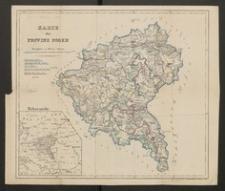 Karte der Provinz Posen