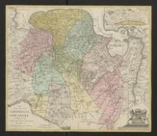 Nova totius Provinciae Groningo-Omlandiae in Belgio tabula [...]