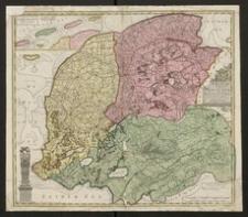 Frisiae Dominium vernacule Friesland, verdeeld in de Hoofd-deelen van Oostergoo, Westergoo en Sevenwolden, als ook der XI Steden Zynde noch onderscheiden in XXX Grietenijen [...]