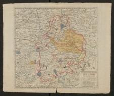 Karte von Bayern und den angraenzenden Schwaebischen Landen mit den im Bayerischen Erbfolgskriege 1778 darauf gemachten Ansprüchen
