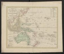 Karte vom Fünften Erdtheil oder Polynesien oder Australien od. Südindien