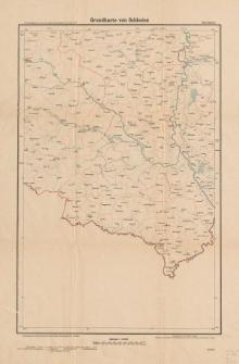 Grundkarte von Schlesien. Blatt Ratibor