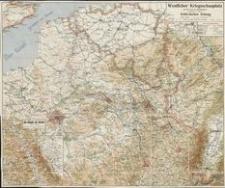 Westlicher Kriegsschauplatz mit den Daten der Hauptereignisse : herausgegeben vom Verlage der Schlesischen Zeitung