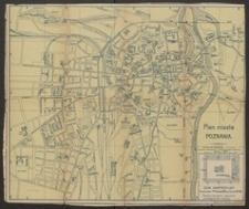 Plan miasta Poznania