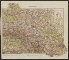 Radsportkarte und Autokarte der Provinz Schlesien